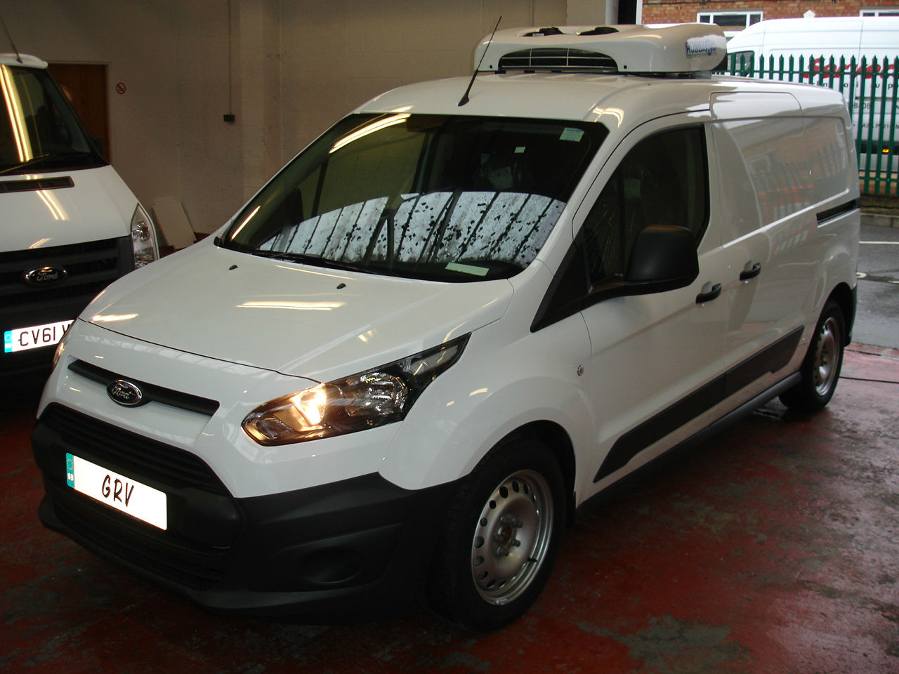 NEW FORD CONNECT T240 LWB FREEZER VAN