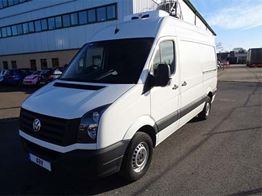 2015 65 REG VW CRAFTER CR35 TDI MWB HI ROOF FREEZER VAN