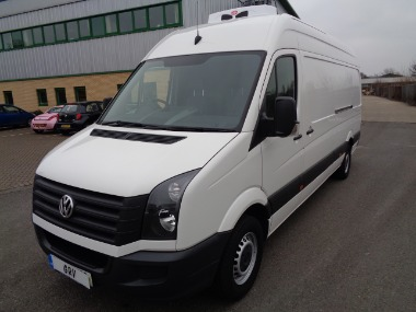 2016 16 REG VW CRAFTER CR35 TDI 136 LWB HI ROOF FREEZER VAN