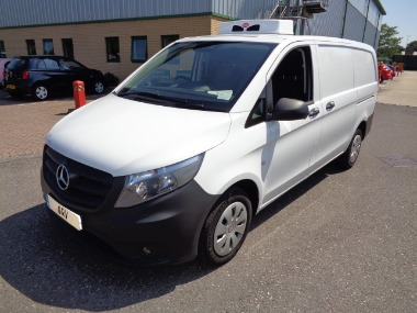 2015 65 MERCEDES VITO 111 CDI REFRIGERATED VAN (NEW SHAPE)
