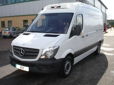 2016 66 REG MERCEDES SPRINTER 314CDI MWB REFRIGERATED VAN