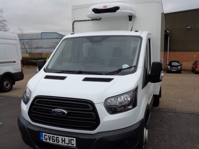 NEW FORD TRANSIT 350 2.0 TDCI 130 CHILLER/FREEZER BOX EURO 6