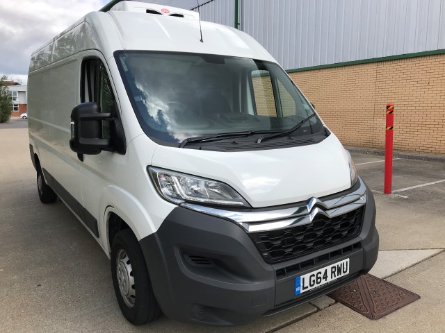 2014 64 REG CITROEN RELAY L3H2 2.2 HDI 130 REFRIGERATED VAN